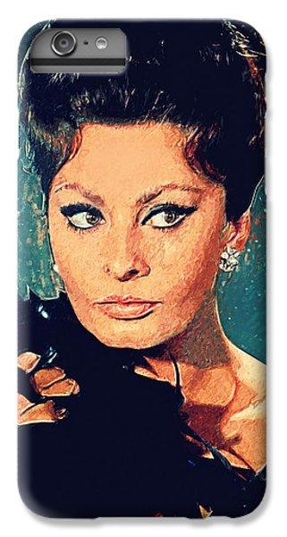 Sophia Loren IPhone 7 Plus Case by Taylan Apukovska