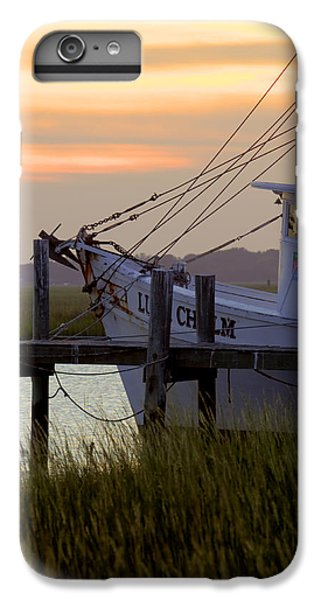 Shrimp Boats iPhone 7 Plus Case - Southern Shrimp Boat Sunset by Dustin K Ryan