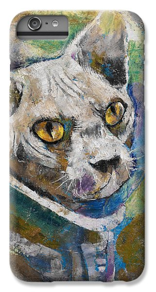 Space Cat IPhone 7 Plus Case by Michael Creese