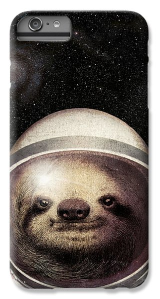 Space Sloth IPhone 7 Plus Case by Eric Fan