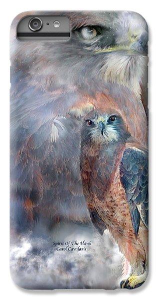 Hawk iPhone 7 Plus Case - Spirit Of The Hawk by Carol Cavalaris