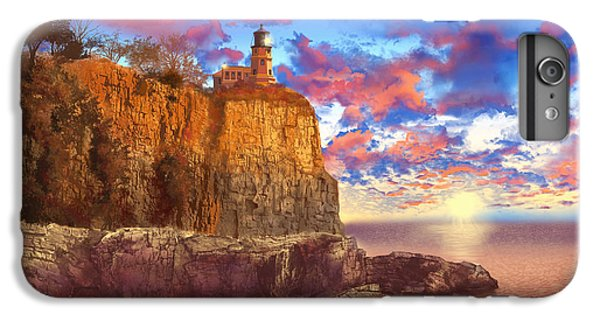 Lake Superior iPhone 7 Plus Case - Split Rock Lighthouse by Bekim M