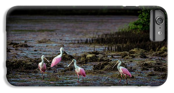 Spoonbill iPhone 7 Plus Case - Spooning Party by Marvin Spates