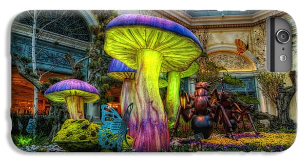 Spring Mushrooms IPhone 7 Plus Case by Stephen Campbell