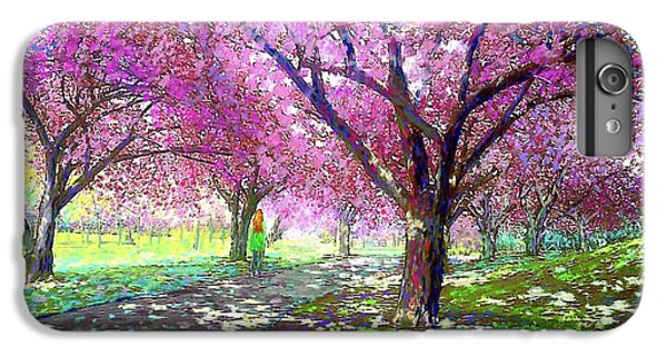 England iPhone 7 Plus Case - Cherry Blossom by Jane Small