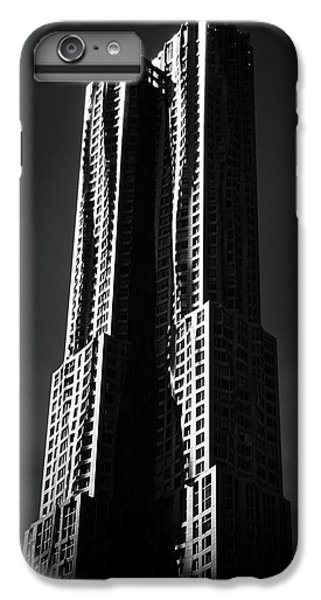 IPhone 7 Plus Case featuring the photograph Spruce Street By Gehry by Jessica Jenney