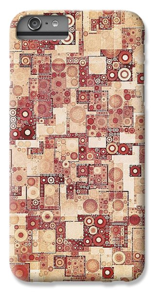 Squares And Circles  IPhone 7 Plus Case by Sandy Taylor