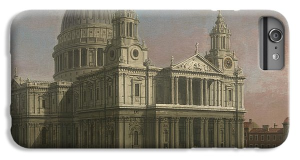 Wren iPhone 7 Plus Case - St. Paul's Cathedral by Giovanni Antonio Canaletto