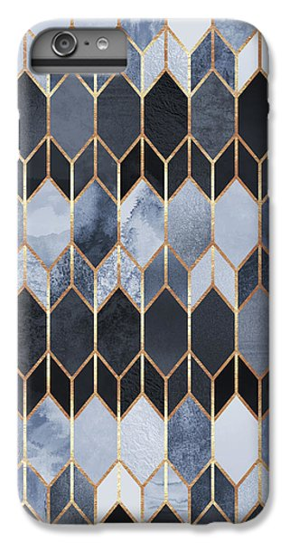 Pattern iPhone 7 Plus Case - Stained Glass 4 by Elisabeth Fredriksson