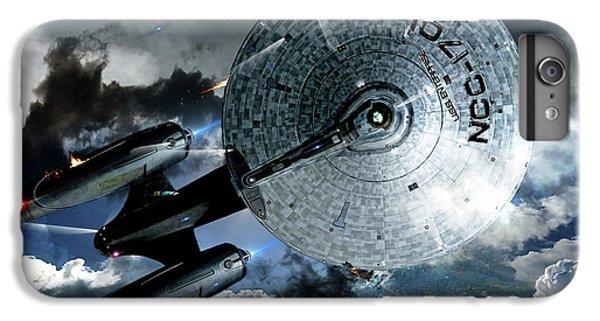 Star Trek Into Darkness, Original Mixed Media IPhone 7 Plus Case by Thomas Pollart