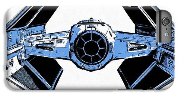 Star Wars Tie Fighter Advanced X1 IPhone 7 Plus Case by Edward Fielding
