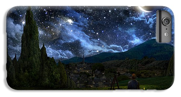 Starry Night IPhone 7 Plus Case by Alex Ruiz