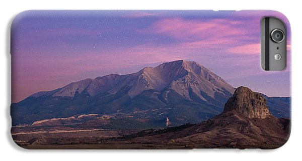 IPhone 7 Plus Case featuring the photograph Starry Sunset Over West Spanish Peak by Aaron Spong