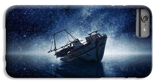 Space Ships iPhone 7 Plus Case - Stars by Zoltan Toth