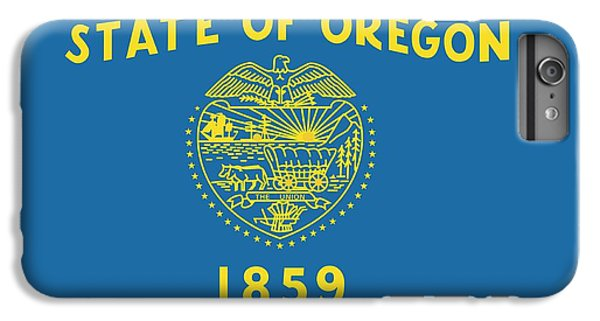 State Flag Of Oregon IPhone 7 Plus Case by American School