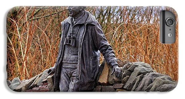 IPhone 7 Plus Case featuring the photograph Statue Of Tom Weir by Jeremy Lavender Photography