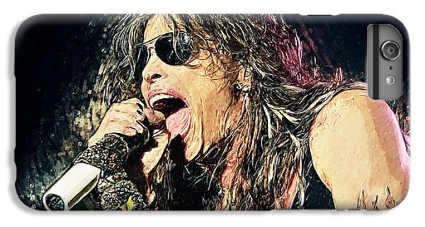 Steven Tyler  IPhone 7 Plus Case by Taylan Apukovska