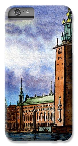 Stockholm Sweden IPhone 7 Plus Case