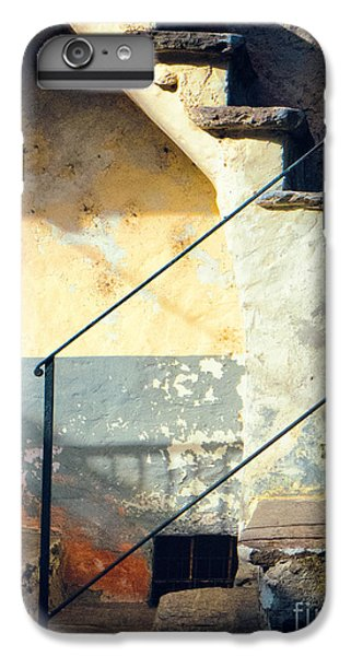 IPhone 7 Plus Case featuring the photograph Stone Steps Outside An Old House by Silvia Ganora
