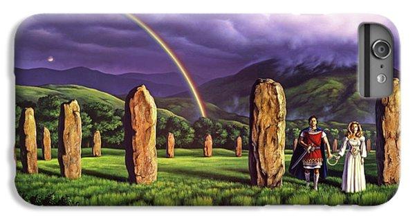 England iPhone 7 Plus Case - Stones Of Years by Jerry LoFaro