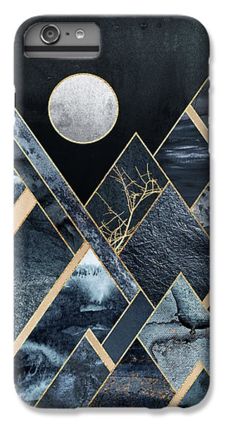 Mountain iPhone 7 Plus Case - Stormy Mountains by Elisabeth Fredriksson