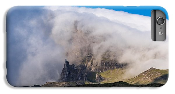 IPhone 7 Plus Case featuring the photograph Storr In Cloud by Gary Eason
