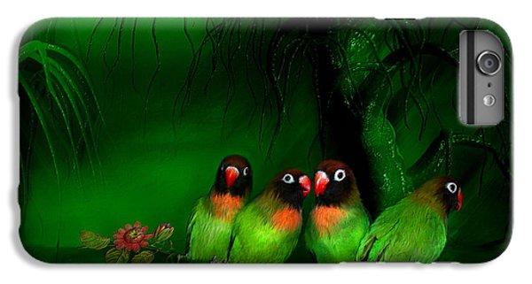 Strange Love IPhone 7 Plus Case by Carol Cavalaris
