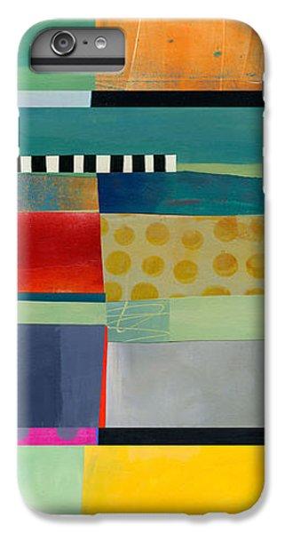 Stripe Assemblage 2 IPhone 7 Plus Case by Jane Davies