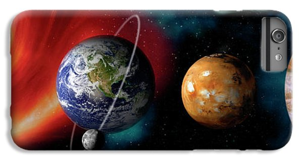 Sun And Planets IPhone 7 Plus Case by Panoramic Images