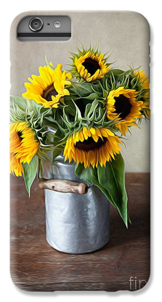 Sunflower iPhone 7 Plus Case - Sunflowers by Nailia Schwarz
