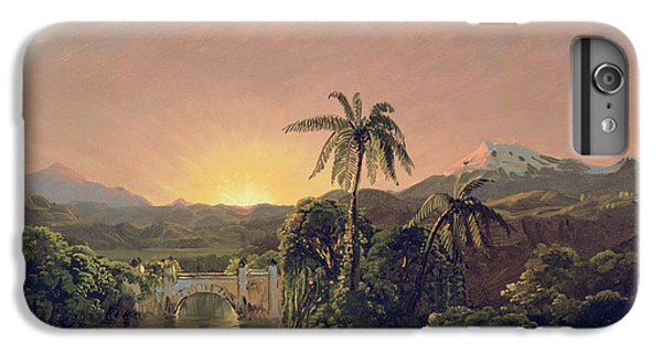 Sunset In Equador IPhone 7 Plus Case