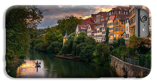 City Sunset iPhone 7 Plus Case - Sunset In Tubingen by Dmytro Korol