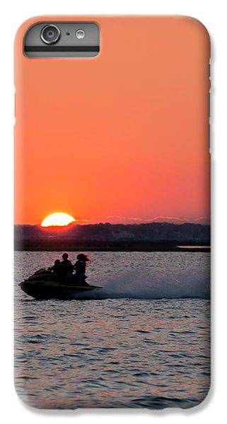 Jet Ski iPhone 7 Plus Case - Sunset On The Ski by Ryan Crane