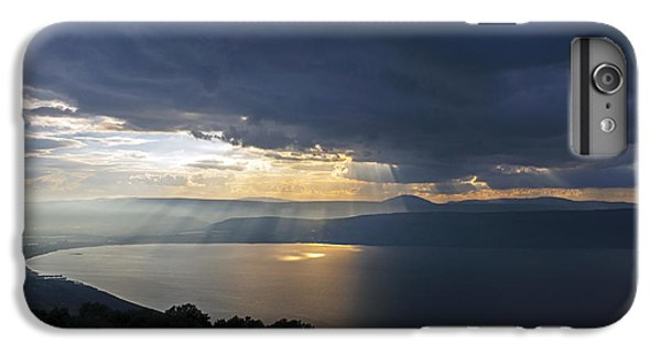 Sunset Over The Sea Of Galilee IPhone 7 Plus Case by Dubi Roman
