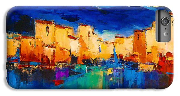 Sunset Over The Village IPhone 7 Plus Case