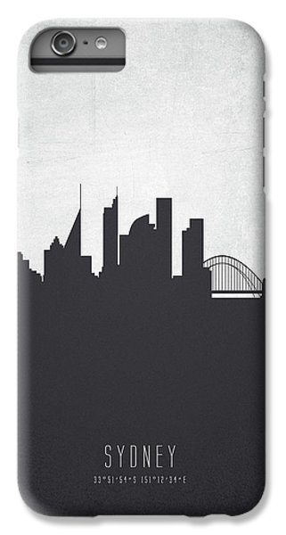 Sydney Skyline iPhone 7 Plus Case - Sydney Australia Cityscape 19 by Aged Pixel