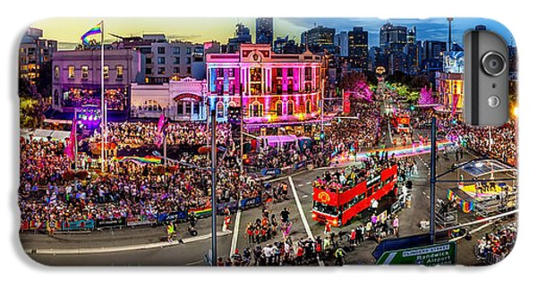 Sydney Skyline iPhone 7 Plus Case - Sydney Gay And Lesbian Mardi Gras Parade by Az Jackson