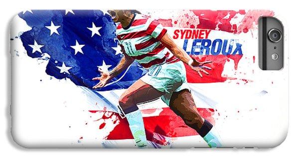 Sydney Leroux IPhone 7 Plus Case by Semih Yurdabak