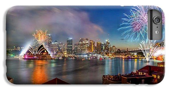 Sydney Sparkles IPhone 7 Plus Case by Az Jackson
