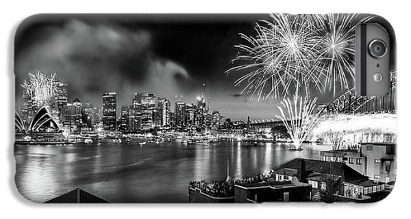 Sydney Skyline iPhone 7 Plus Case - Sydney Spectacular by Az Jackson