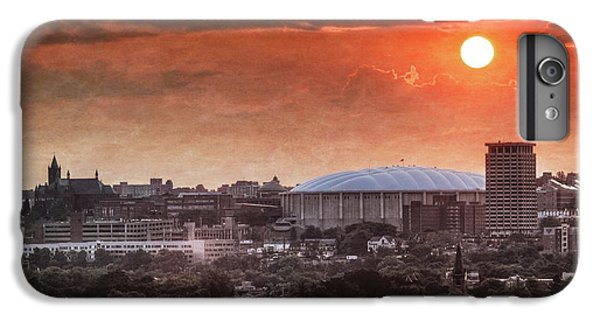 Syracuse Sunrise Over The Dome IPhone 7 Plus Case by Everet Regal