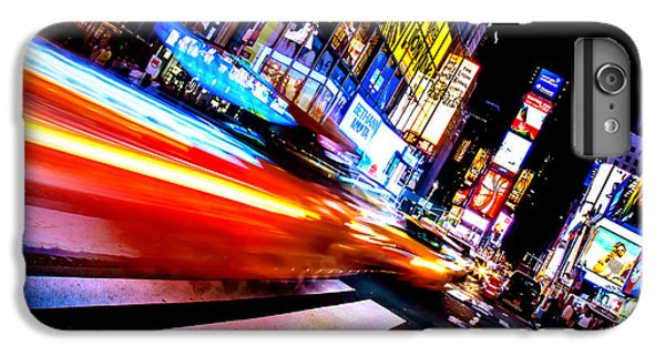 Taxis In Times Square IPhone 7 Plus Case by Az Jackson