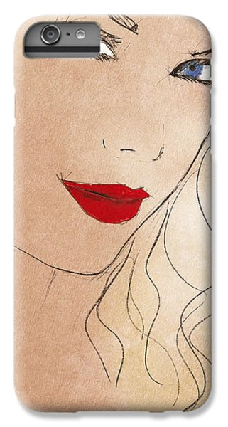 Taylor Red Lips IPhone 7 Plus Case