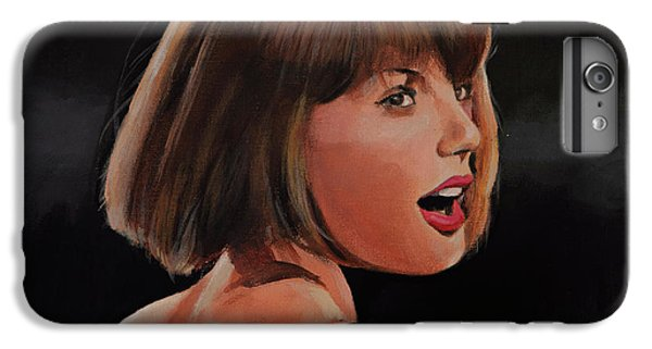 Taylor Swift IPhone 7 Plus Case by Bill Dunkley