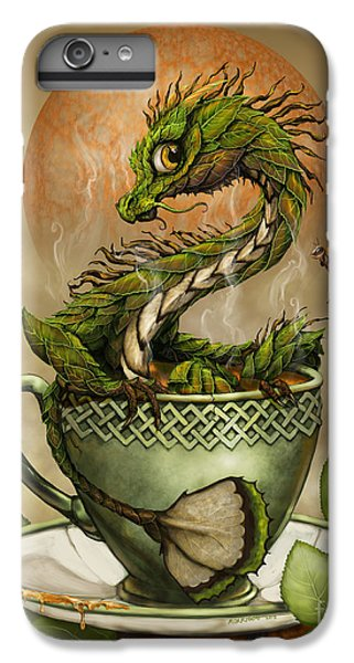 Dragon iPhone 7 Plus Case - Tea Dragon by Stanley Morrison