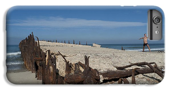 IPhone 7 Plus Case featuring the photograph Tel Aviv Old Port 2 by Dubi Roman