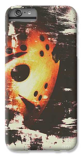 Hockey iPhone 7 Plus Case - Terror On The Ice by Jorgo Photography - Wall Art Gallery