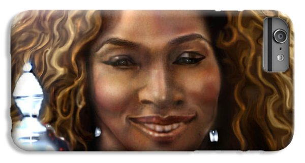 The Beauty Victory That Is Serena IPhone 7 Plus Case by Reggie Duffie