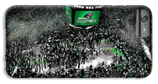 Larry Bird iPhone 7 Plus Case - The Boston Celtics 2008 Nba Finals by Brian Reaves