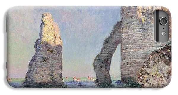 Impressionism iPhone 7 Plus Case - The Cliffs At Etretat by Claude Monet